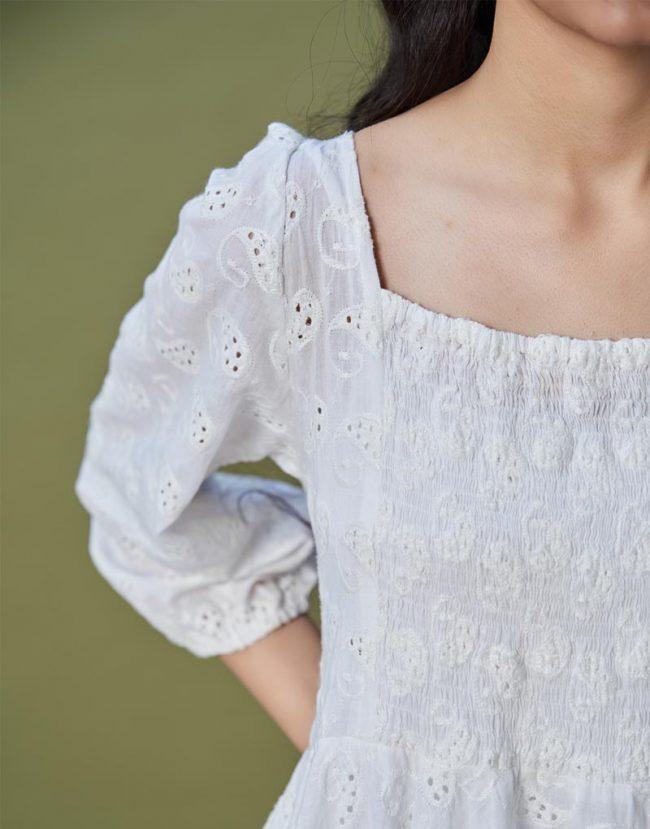 Milla White Top